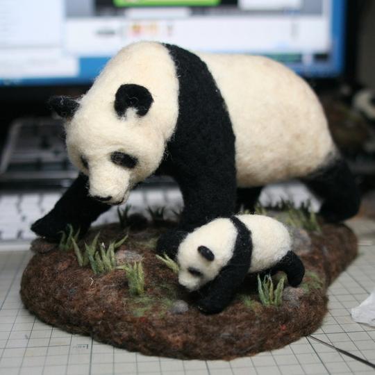 パンダ人形